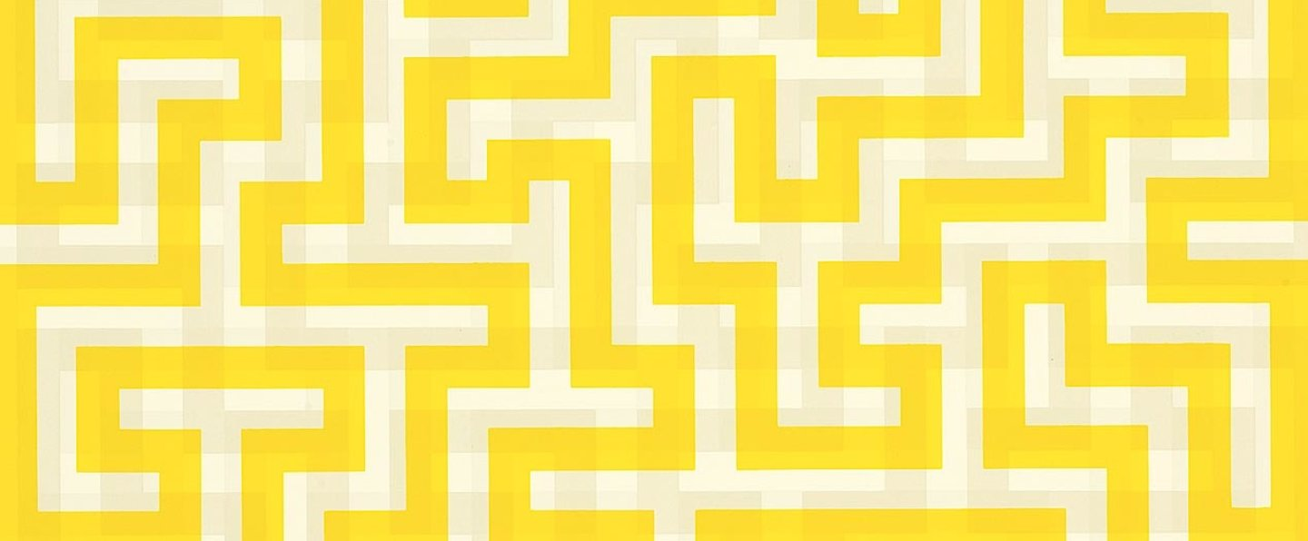Banner Anni Albers Meander