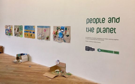 People and the Planet exhibition